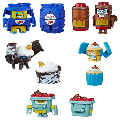 Transformers Botbots Series 3 Sugar Shocks Complete set of 5 Toys