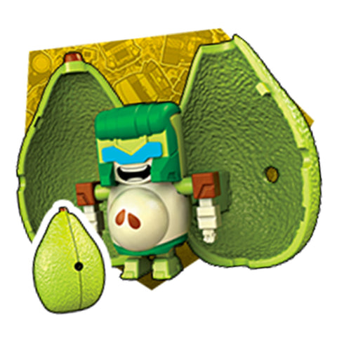 Transformers Botbots Series 4 Fresh Squeezes Peary Peculiar Pear Fruit Render