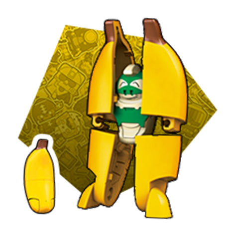 Transformers Botbots Series 4 Fresh Squeezes Peels The Monkey Render Banana