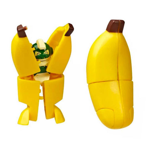 Transformers Botbots Series 4 Fresh Squeezes Peels The Monkey Robot Banana Toy