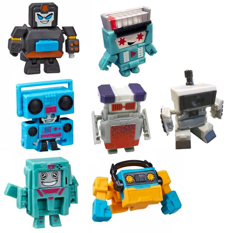 Transformers Botbots Series 4 Retro Replays Complete set of 7 toys