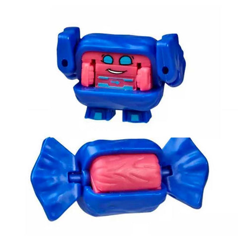 Transformers Botbots Series 4 Sugar Shocks Grandma Crinkles Taffy Candy Toy Robot
