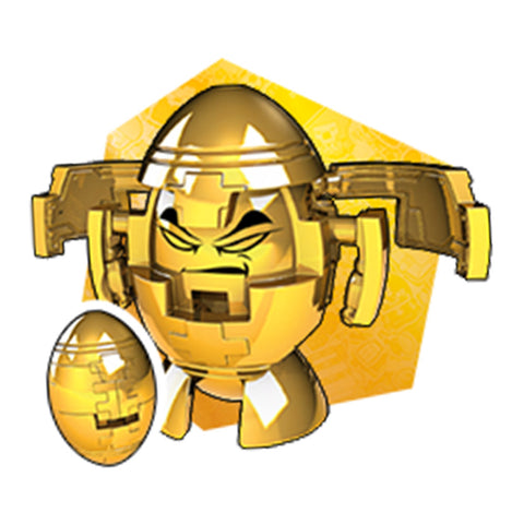 Transformers Botbots Series 4 Winner's Circle Goldface Gold Football Render