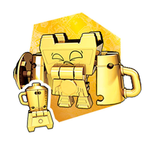 Transformers Botbots Series 4 Winner's Circle Liquid Gold Blender Render