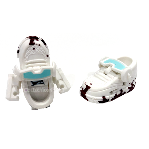 Transformers Botbots Series 5 Cardio Clique Poo-Shoo sneaker shoe toy