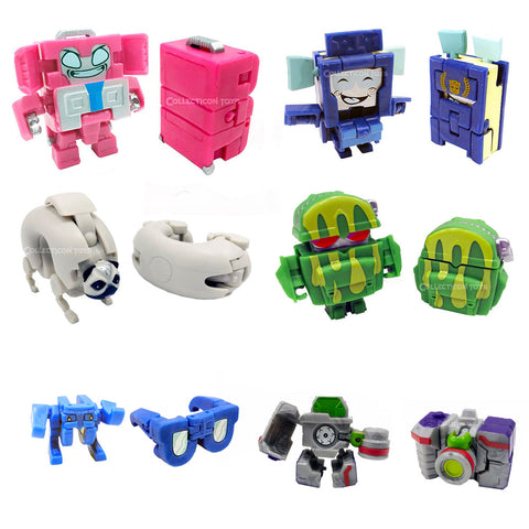 Transformers Botbots Series 5 Frequent Flyers Complete Set of 6 toys