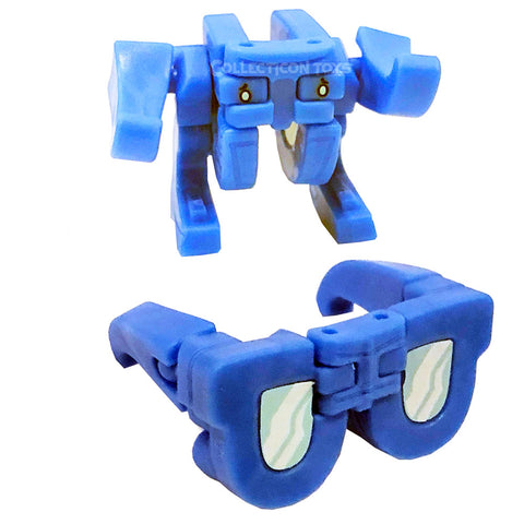 Transformers Botbots Series 5 Frequent Flyers Sandy Shades Blue Sunglasses Toy