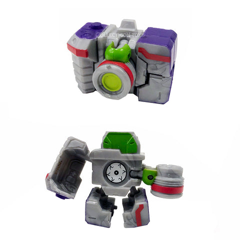 Transformers Botbots Series 5 Frequent Flyers Shudder Camera Reflector Toy