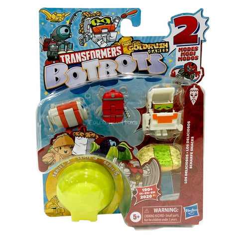 Transformers Botbots Series 5 Los Deliciosos 5-pack #1 113 Box Package Collecticon Toys Reveal