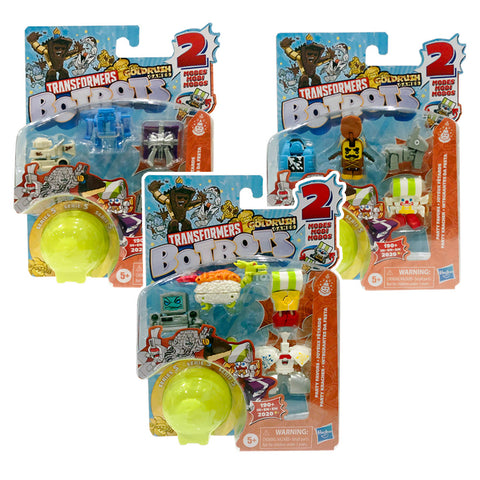 Transformers Botbots Series 5 Party Favors Complete Bundle of 3 box package collecticon Toys