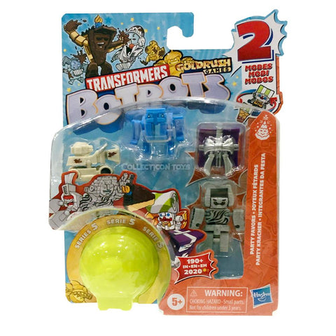 Transformers Botbots Series 5 Party Favors 5-pack #2 number 97 box packaging front collecticon Toys