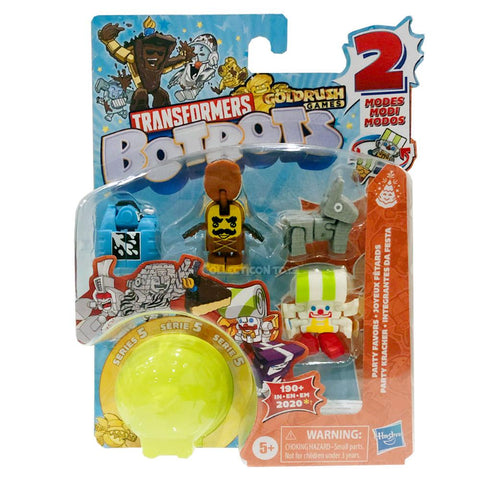 Transformers Botbots Series 5 Party Favors 5-pack #3 ID Number 91 box package front collecticon Toys