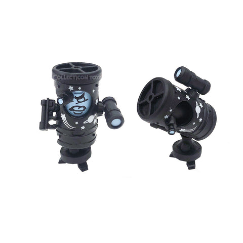 Transformers Botbots Series 5 Science Alliance Professor Scope Black Telescope Toy