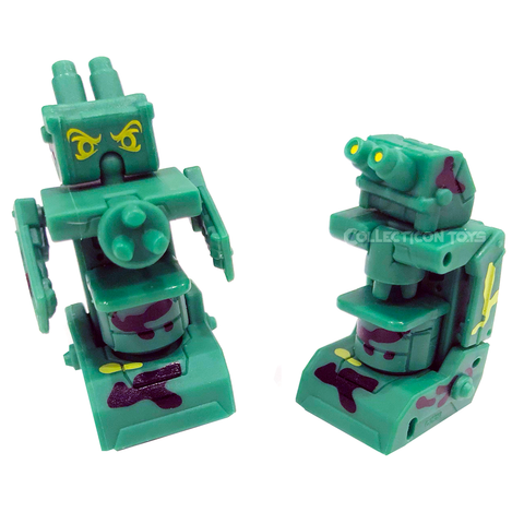 Transformers Botbots Series 5 Science Alliance Special Optics Green Microscope Toy