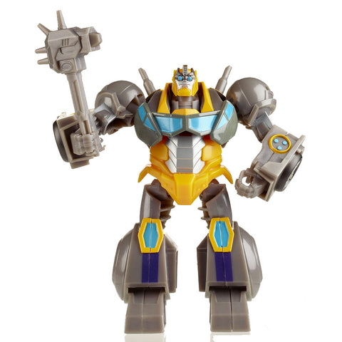 Transformers Bumblebee: Cyberverse Adventures Maccadam Build-a-figure loose