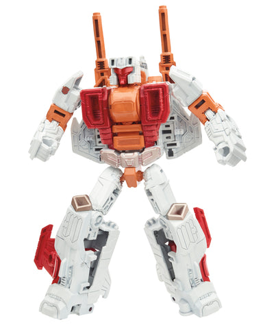 Transformers Combiner Wars Computron Technobot Strafe USA Afterburner Robot mode