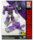 Transformers Cyber Battalion Decepticon Shockwave Package Box Front