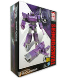Transformers Cyber Battalion Decepticon Shockwave Package