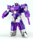 Transformers Cyber Battalion Decepticon Shockwave Robot