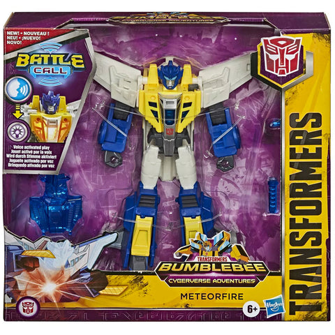 Transformers Cyberverse Adventures Battle Call Meteorfire box package front