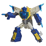 Transformers Cyberverse Adventures Battle Call Meteorfire robot toy armor