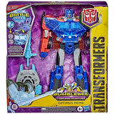 Transformers Cybervers Adventures Battle Call Officer Optimus Prime Walmart box package front
