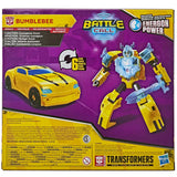 Transformers Cyberverse Adventures Battle Call Trooper Bumblebee Box Package Back