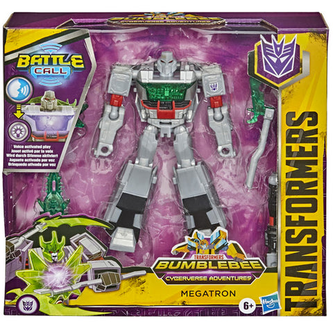Transformers Cyberverse Adventures Battle Call Trooper Megatron Box Package Front