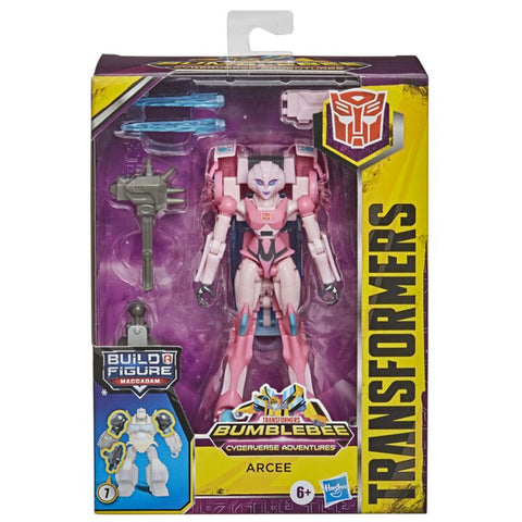 Transformers Cyberverse Adventures Deluxe Arcee Box Package Front