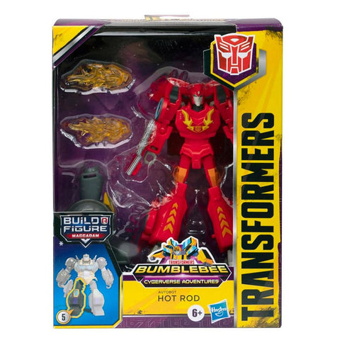 Transformers Cyberverse Adventures Deluxe Hot Rod Box Package Front