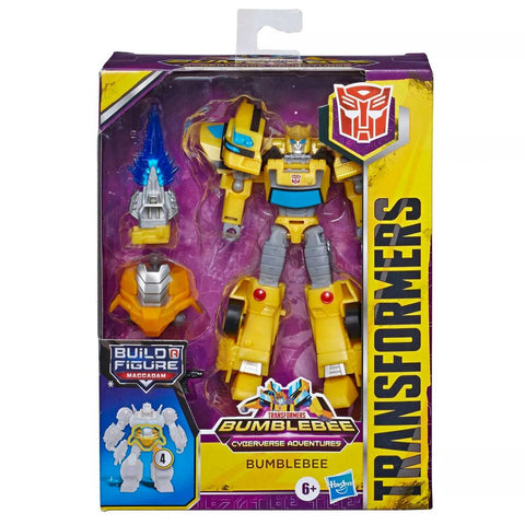 Transformers Cyberverse Adventures Deluxe Bumblebee Box Package Maccadam