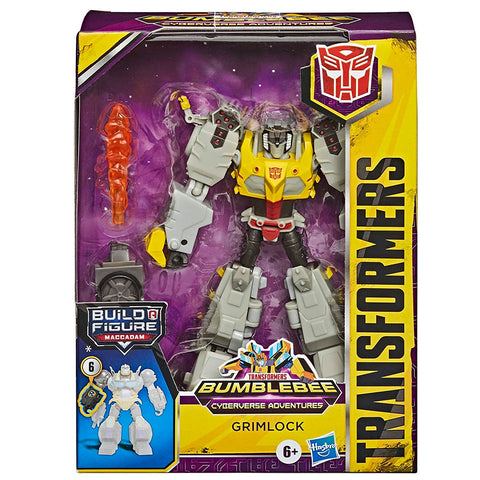 Transformers Cyberverse Adventures Deluxe Grimlock Front Box Package