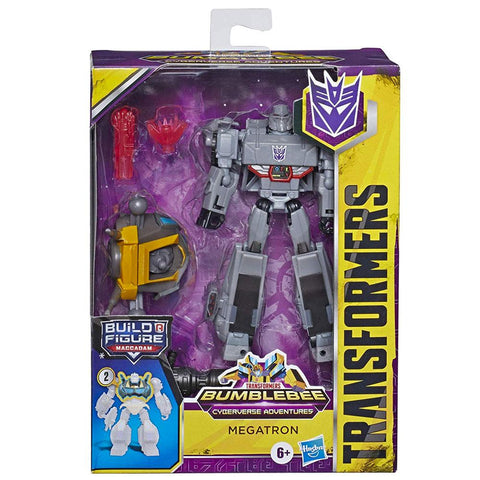 Transformers Bumblebee: Cyberverse Adventures Deluxe Megatron Box Package