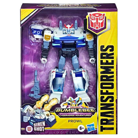 Transformers Cyberverse adventures deluxe prowl box package front