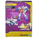 Transformers Cyberverse Adventures deluxe seeker strike starscream box package back