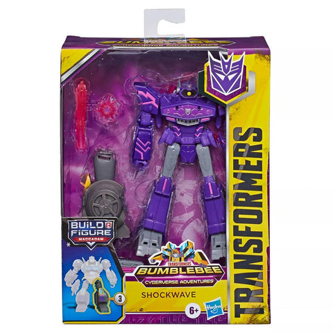 Transformers Cyberverse AdventuresDeluxe Shockwave Box Package