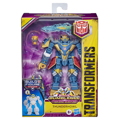 Transformers Cyberverse Adventures deluxe class Thunderhowl box package front