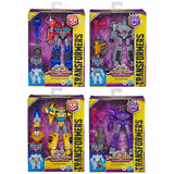 Transformers Cyberverse Deluxe Wave 1 bundle of four figures Box Package