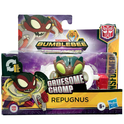 Transformers Cyberverse Adventures Gruesome Chomp Repugnus 1-step changer box packaging