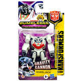 Transformers Cyberverse Adventures Scout Class Gravity Cannon Wheeljack Box Package Front