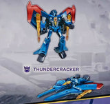 Transformers Cyberverse Adventures Seekers Sinister Strikeforce warrior cybertronian thundercracker package back