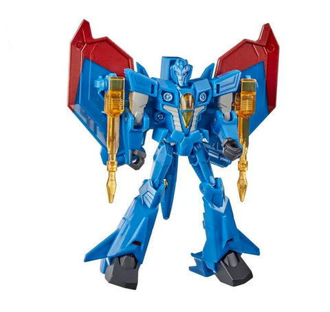 Transformers Cyberverse Adventures Seekers Sinister Strikeforce warrior cybertronian thundercracker robot toy