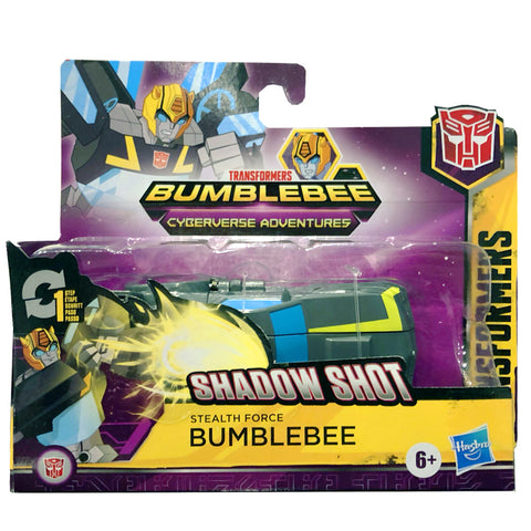 Transformers Cyberverse Adventures Stealth Force Bumblebee 1-step changer Box Package