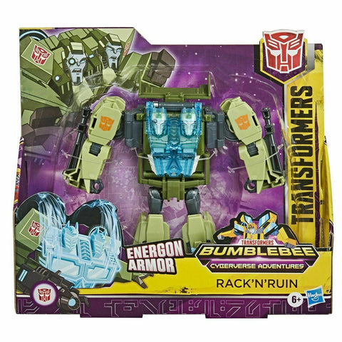 Transformers Cybververse Adventures Ultra Class Rack n Ruin Front Package Box