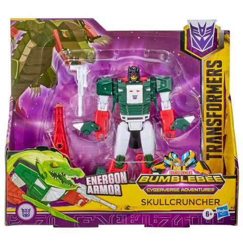 Transformers Cyberverse Adventures Ultra Skullcruncher Box Package Front