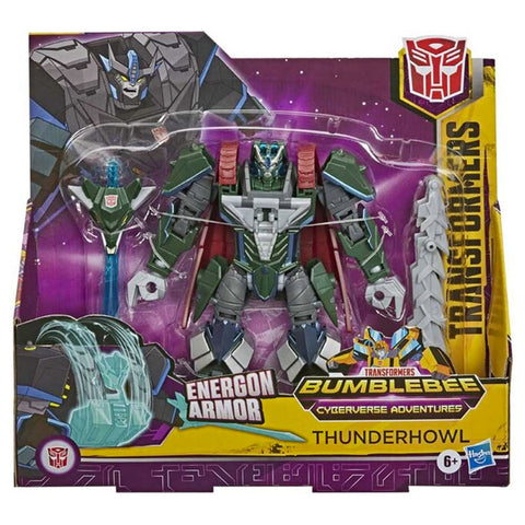 Transformers Cyberverse Adventures Ultra Class Thunderhowl Energon Armor Box Package Front