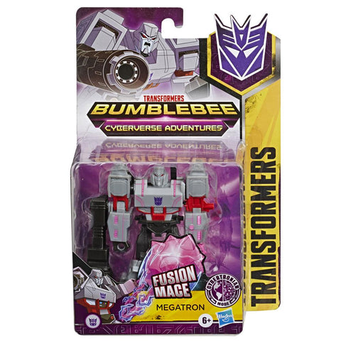 Transformers Cyberverse Adventures Warrior Megatron Cybertronian Mode Box Package