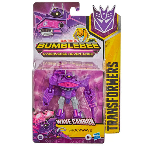 Transformers Cyberverse Adventures Warrior Shockwave Box Package front