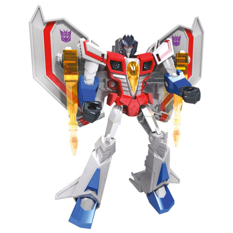 Transformers Cyberverse Adventures Warrior Starscream Cybertronian Mode Robot Render