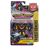 Transformers Cyberverse Warrior Black Stealth Force Hot Rod Package Box